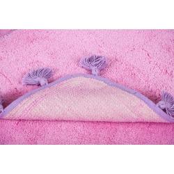 Набор ковриков Irya - Joy pembe розовый 60*90+40*60, , 4