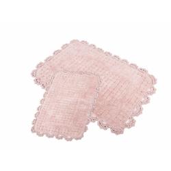 Набор ковриков Irya - Mina pembe розовый 60*90+40*60, , 4