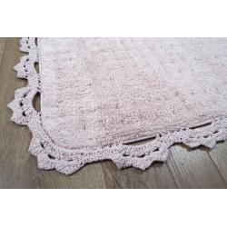 Набор ковриков Irya - Mina pembe розовый 60*90+40*60, , 3