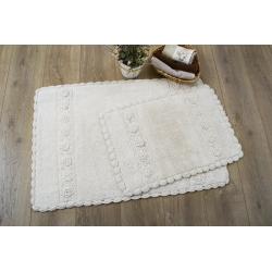 Набор ковриков Irya - Waltz ecru крем 60*90+40*60, , 2