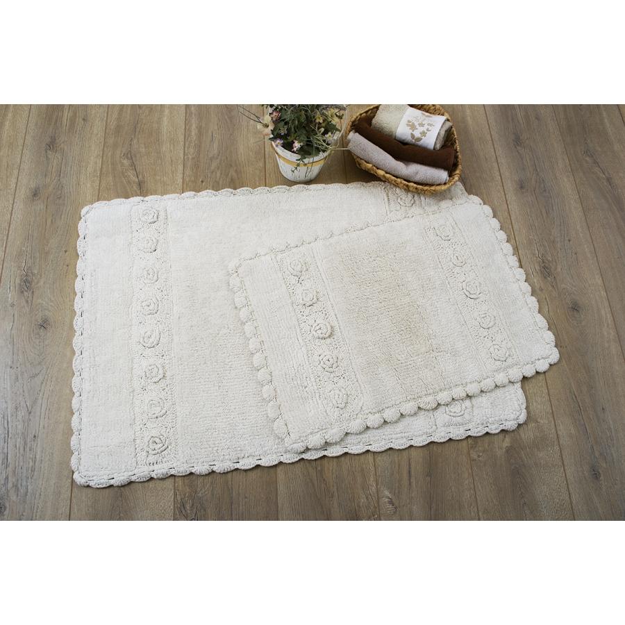 Набор ковриков Irya - Waltz ecru крем 60*90+40*60