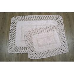 Набор ковриков Irya - Lizz pembe розовый 70*100+45*65, , 2
