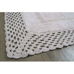 Набор ковриков Irya - Lizz pembe розовый 70*100+45*65, , 5