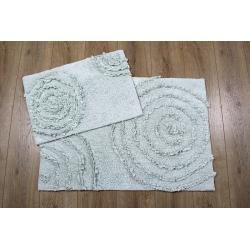 Набор ковриков Irya - Capri aqua 60*90+40*60, , 2