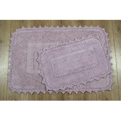 Набор ковриков Irya - Carmela lila лиловый 60*90+40*60, , 2