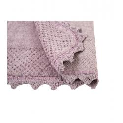 Набор ковриков Irya - Carmela lila лиловый 60*90+40*60, , 4