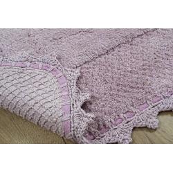 Набор ковриков Irya - Carmela lila лиловый 60*90+40*60, , 3