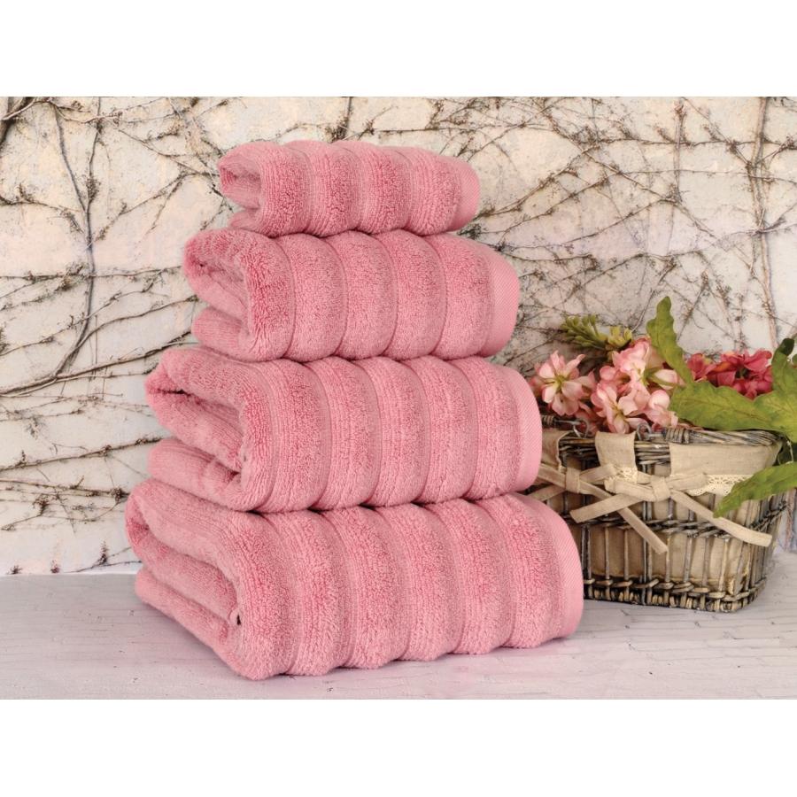 Полотенце Irya - Waves microline pembe розовый 30*50