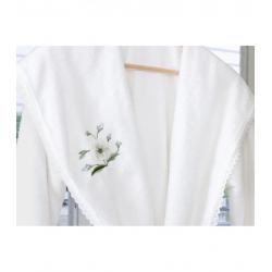 Халат махровый Irya - Bird beyaz L/XL, , 3
