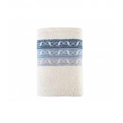 Полотенце Irya Jakarli - New Tile ekru молочный 90*150, , 2