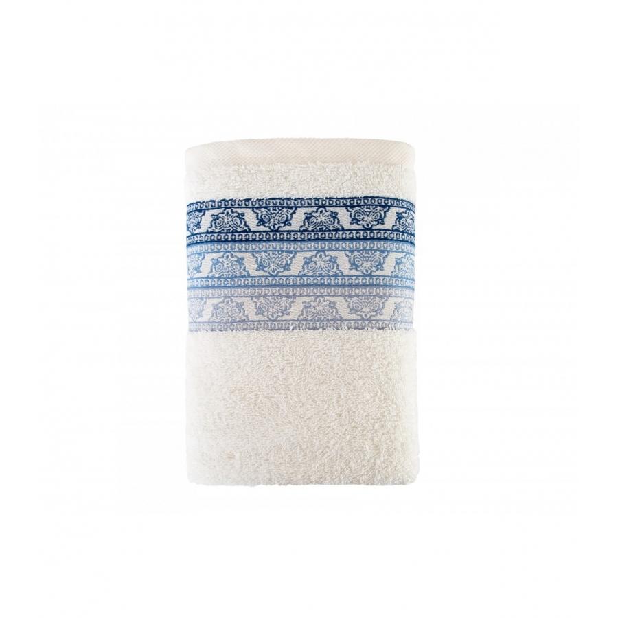 Полотенце Irya Jakarli - New Tile ekru молочный 90*150