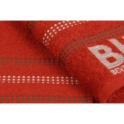 Набор полотенец Beverly Hills Polo Club - 355BHP1263 Botanik Brick Red 50*90, , 3