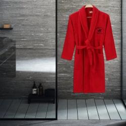 Халат Beverly Hills Polo Club - 355BHP1711 M/L red красный, , 2