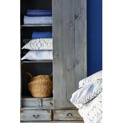 Постельное белье Karaca Home - Felinda mavi голубой пике 220*230 евро, , 3