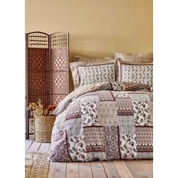 Постельное белье Karaca Home ранфорс - Maryam bordo 2020-1 бордовый полуторное, , 2
