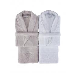 Набор халат с полотенцем Karaca Home - Novela 2018-2 tiffany, , 3