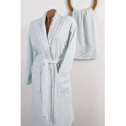 Набор халат с полотенцем Karaca Home - Novela 2018-2 tiffany, , 6