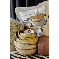 Набор постельное белье с покрывалом Karaca Home - Ruan kiremit кирпичный евро, , 3