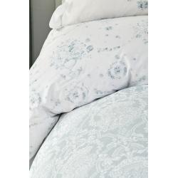 Набор постельное белье с покрывалом Karaca Home - Quatre delux tiffany бирюзовый евро, , 3
