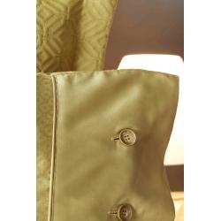 Постельное белье Karaca Home сатин - Infinity hardal оливковый евро, , 3