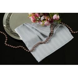 Салфетка Lotus отель - Серый сатин страйп 1*1 35*35, , 2
