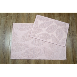 Набор ковриков Irya - Levin pudra пудра 60*90+40*60, , 2