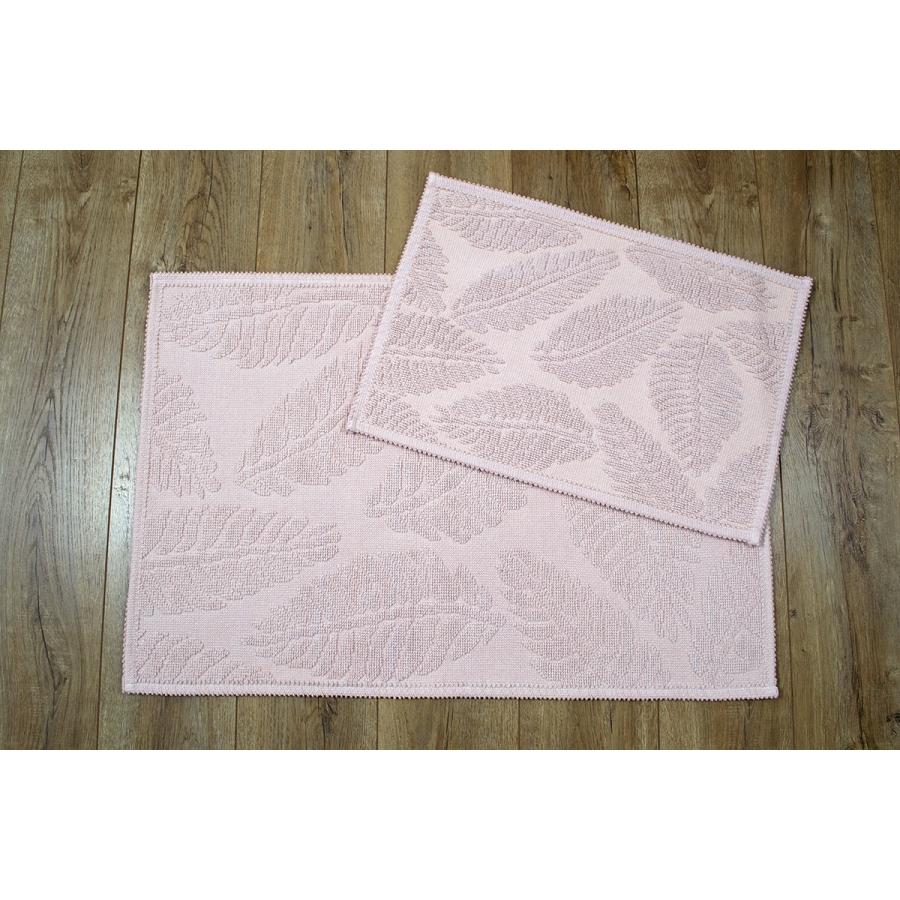 Набор ковриков Irya - Levin pudra пудра 60*90+40*60
