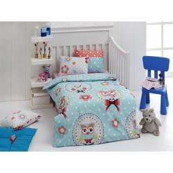 Детское постельное белье для младенцев Eponj Home - Baykus A.mavi, , 2