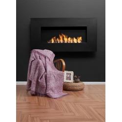 Плед-накидка Eponj Home Buldan Keten - Linen 170*220 mor фиолетовый, , 2