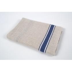 Кухонное полотенце вафельное Barine - Gastronome navy stripe 50*70, , 2