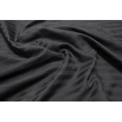 Постельное белье Lotus Отель - Сатин Страйп черный 1*1 евро (Турция), , 3
