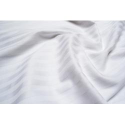 Постельное белье Lotus Отель - Сатин Страйп белый 1*1 евро (Турция), , 3
