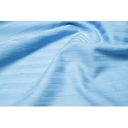 Постельное белье Lotus Отель - Сатин Страйп голубой 1*1 семейный (Турция), , 3
