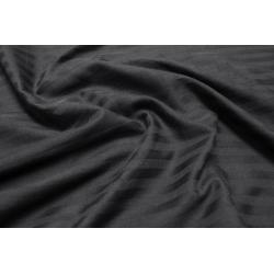 Постельное белье Lotus Отель - Сатин Страйп черный 1*1 семейный (Турция), , 3