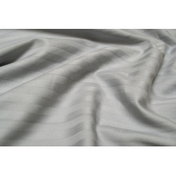 Простынь Lotus Отель - Сатин Страйп 1*1 серый Турция 180*200*25 на резинке, , 4