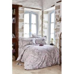 Постельное белье Karaca Home ранфорс - Akina gri серый евро (ПВХ), , 2