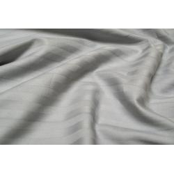 Постельное белье Lotus Отель - Сатин Страйп серый 1*1 евро (Турция), , 3