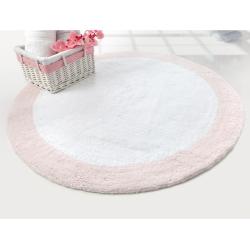 Коврик Irya - Tully beyaz-pembe розовый 90*90, , 2