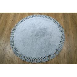 Коврик Irya - Lora a.gri (light grey) светло серый 90*90, , 2