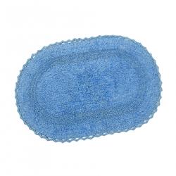 Набор ковриков Irya - Vermont lacivert синий 60*90+40*60, , 4