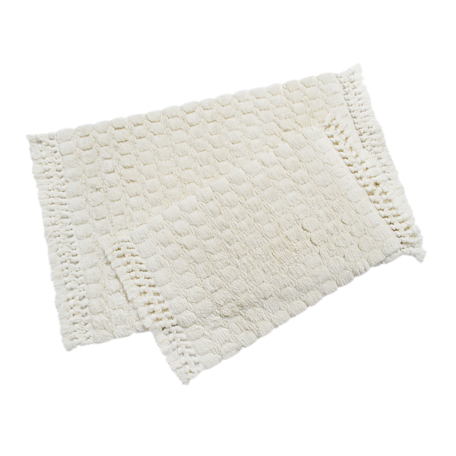 Набор ковриков Irya - Broadway ekru молочный 60*90+40*60