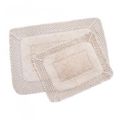 Набор ковриков Irya - Lizz pembe розовый 70*100+45*65, , 6