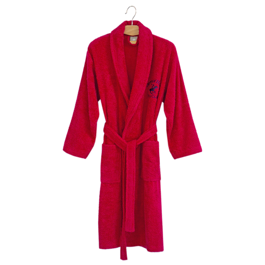 Халат Beverly Hills Polo Club - 355BHP1711 M/L red красный