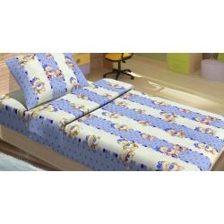 Детское постельное белье для младенцев Lotus ранфорс - MiMi голубой, , 2